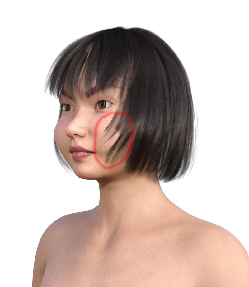 似合う髪型・丸顔0-12