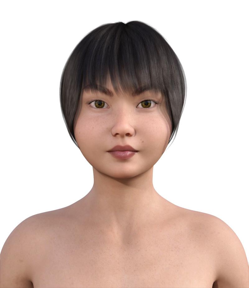 似合う髪型・丸顔0-1