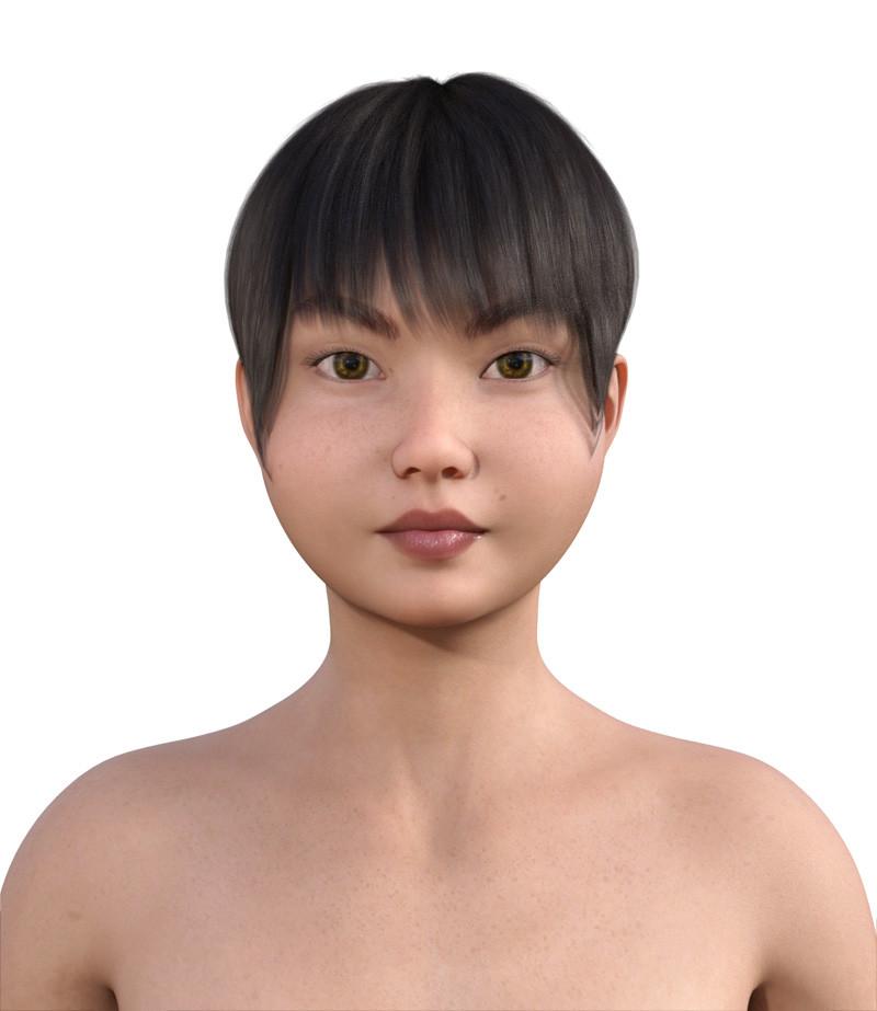 似合う髪型・丸顔0-2