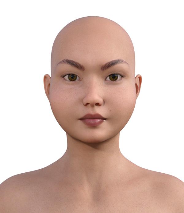 顔型診断で髪型100