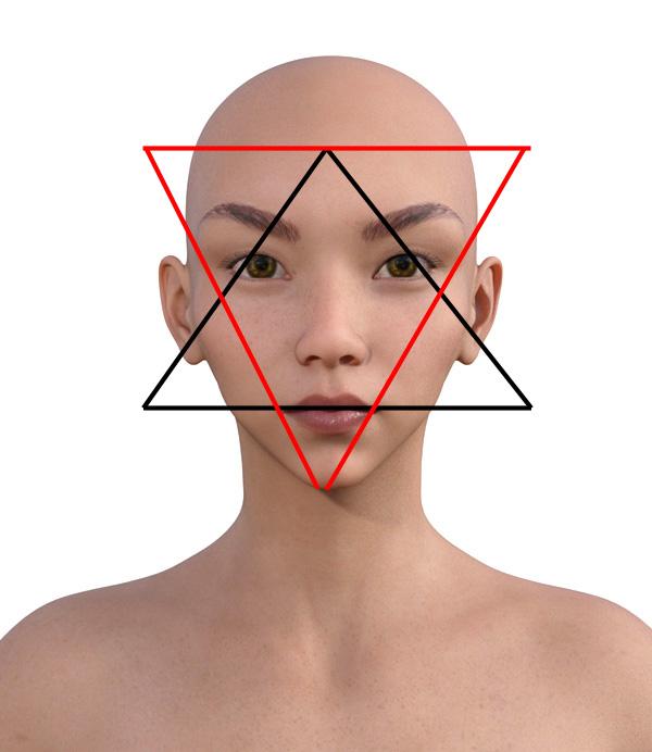 顔型診断で髪型100-1