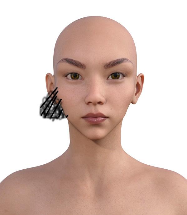 顔型診断で髪型1-2