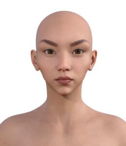 顔型診断で髪型101