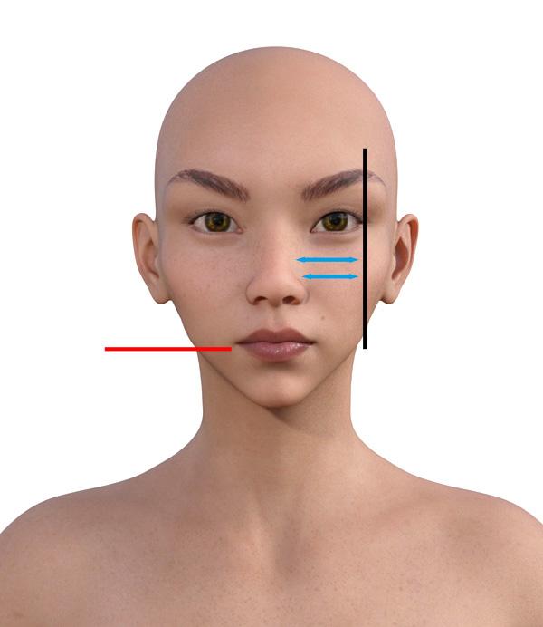 顔型診断で髪型101-4