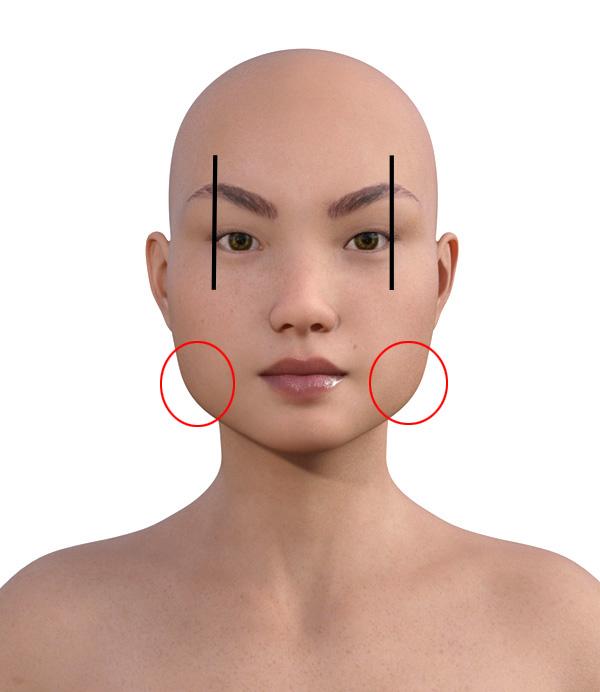 顔型診断で髪型102-1
