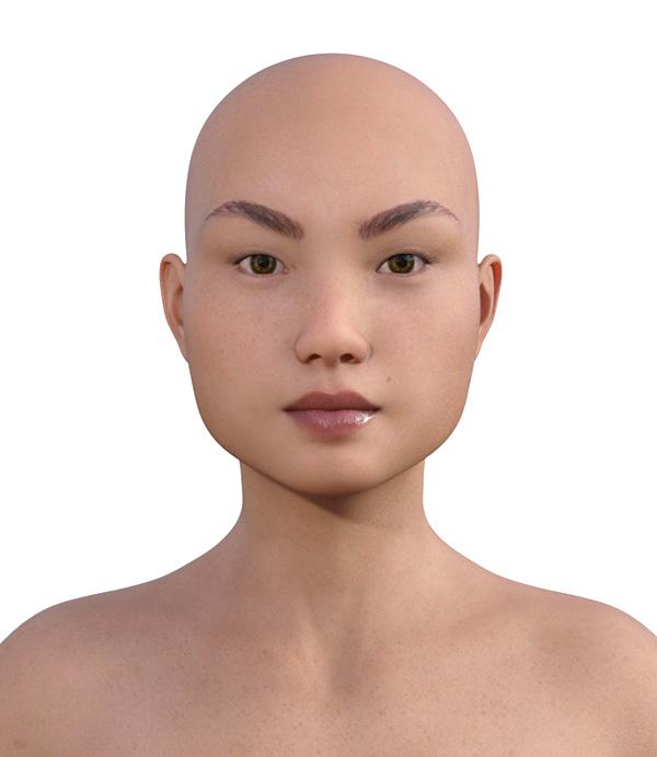顔型診断で髪型102