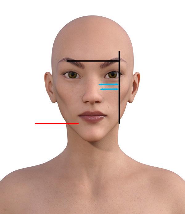 顔型診断で髪型103-4