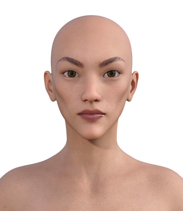 顔型診断で髪型103