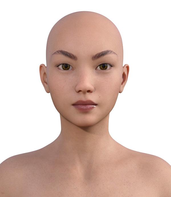顔型診断で髪型104