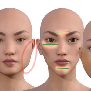 顔型別に合わせたメイクの仕方【自分の欠点を修正する3つの方法】