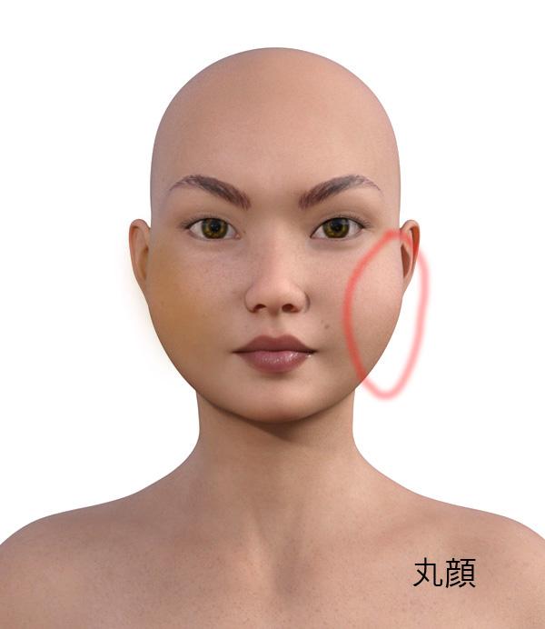 顔型別のメイクの仕方505