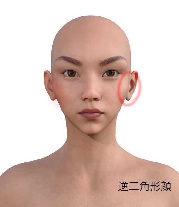 顔型別のメイクの仕方506