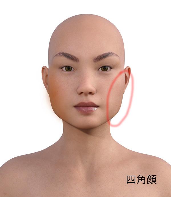 顔型別のメイクの仕方507