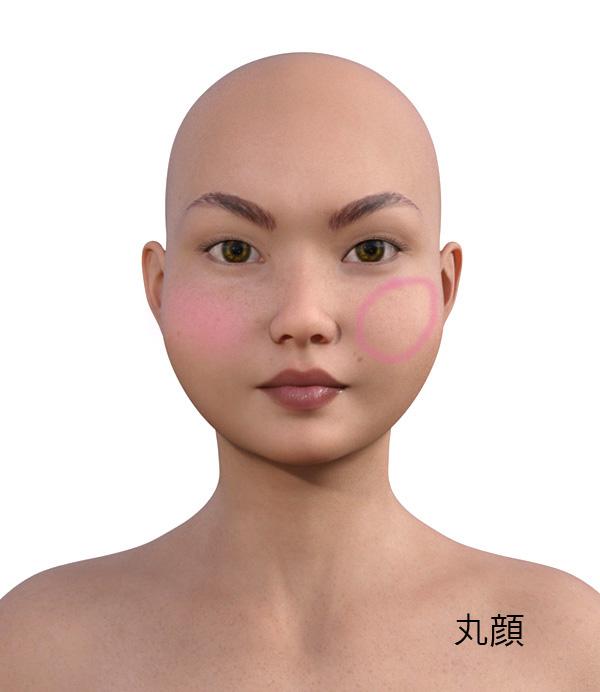 顔型別のメイクの仕方510