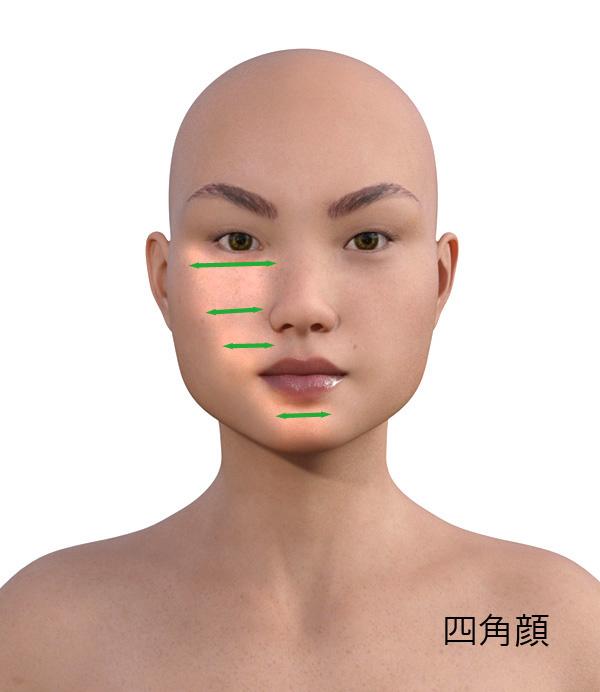 顔型別のメイクの仕方517