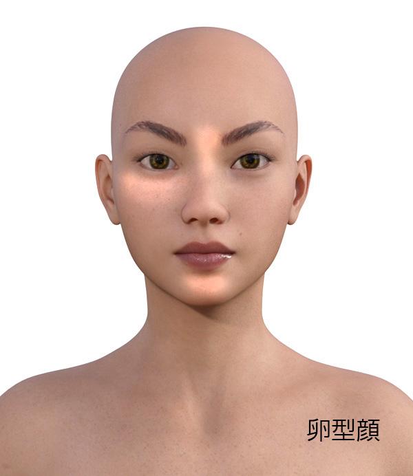 顔型別のメイクの仕方519