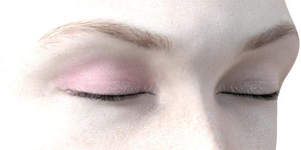 ピンクのアイシャドウ700