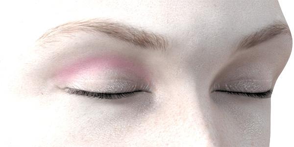 ピンクのアイシャドウ703