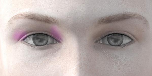 ピンクのアイシャドウ706
