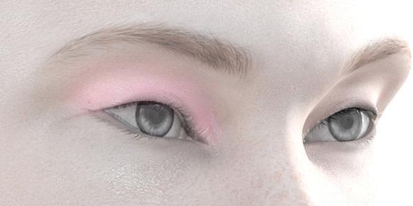 ピンクのアイシャドウ708