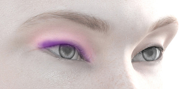 ピンクのアイシャドウ709