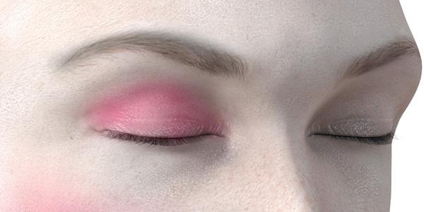 ピンクのアイシャドウ726