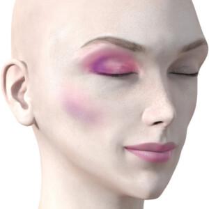 ピンクのアイシャドウ730