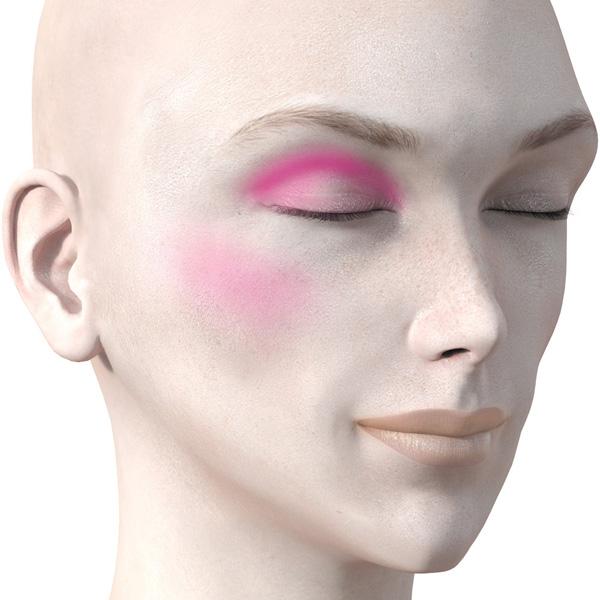 ピンクのアイシャドウ732